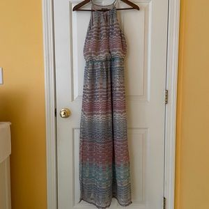 Lilly Rose XS Multicolor Maxi Dress